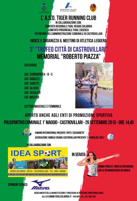 Calendario Fidal Calabria.Castrovillari Info Sport